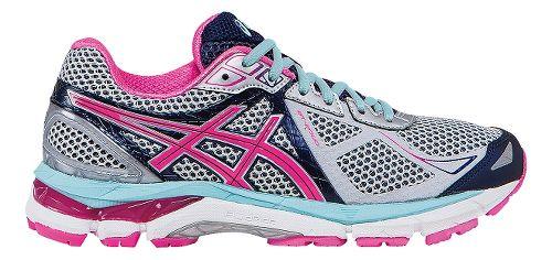 Womens ASICS GT-2000 3 Running Shoe - Grey/Pink 6