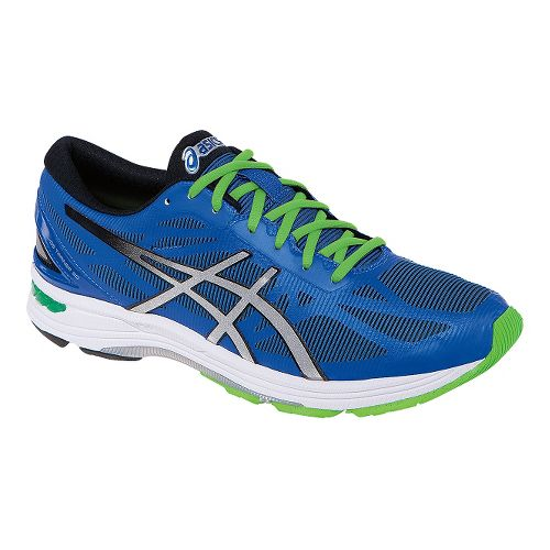 Mens ASICS GEL-DS Trainer 20 Running Shoe - Blue/Silver 7.5