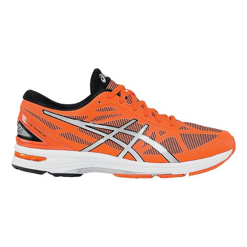 Mens ASICS GEL-DS Trainer 20 Running Shoe - Flash Orange/Silver 12.5