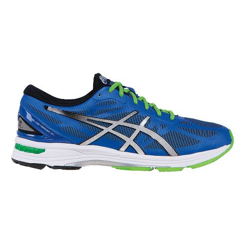Mens ASICS GEL-DS Trainer 20 Running Shoe - Blue/Silver 8.5