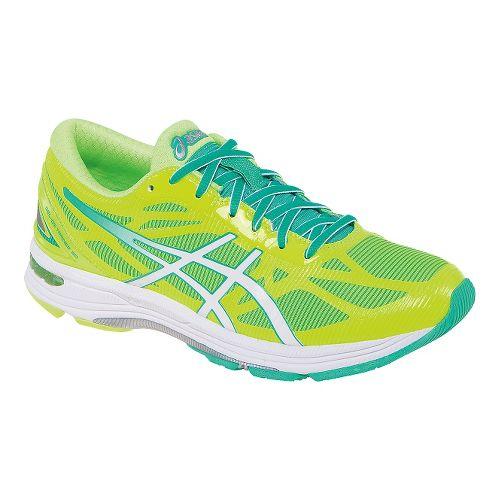 Womens ASICS GEL-DS Trainer 20 Running Shoe - Yellow/White 11.5