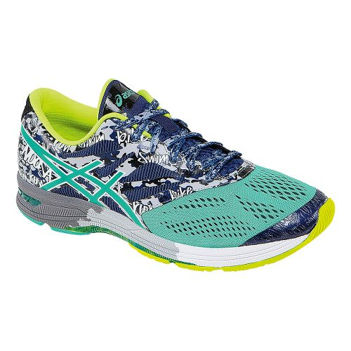 Mens ASICS GEL-Noosa Tri 10 Running Shoe - Blue/Mint 14