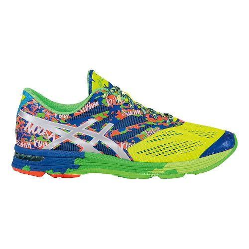 Mens ASICS GEL-Noosa Tri 10 Running Shoe - Yellow/Blue 12