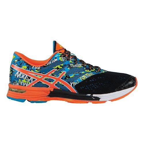 Mens ASICS GEL-Noosa Tri 10 Running Shoe - Black/Orange 10.5