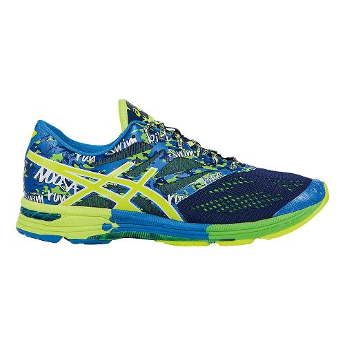 Mens ASICS GEL-Noosa Tri 10 Running Shoe - Blue/Yellow 10