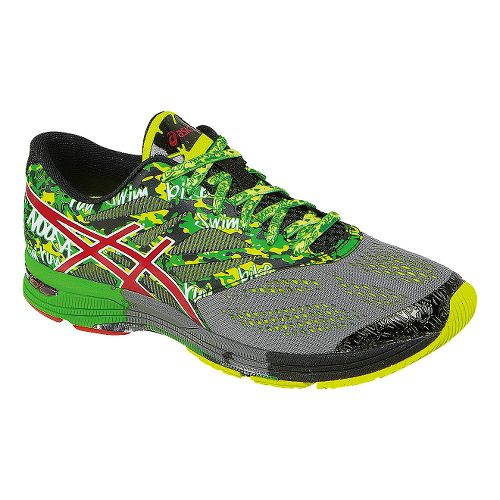 Mens ASICS GEL-Noosa Tri 10 Running Shoe - Green/Gray 11.5