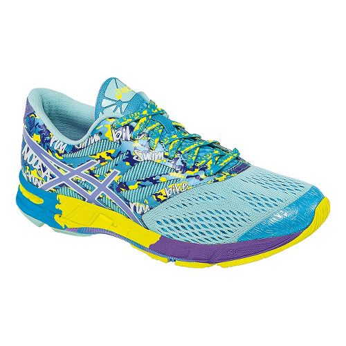 Womens ASICS GEL-Noosa Tri 10 Running Shoe - Mint/Lavender 7.5