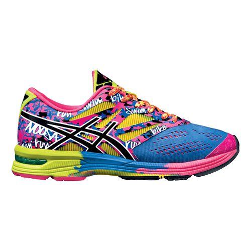 Womens ASICS GEL-Noosa Tri 10 Running Shoe - Navy/Flash Yellow 7
