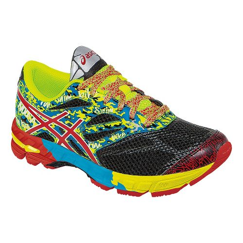 Kids ASICS GEL-Noosa Tri 10 Running Shoe - Black/Yellow 5.5Y