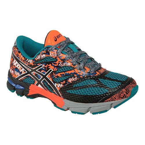 Kids ASICS GEL-Noosa Tri 10 GS Running Shoe - Blue/Orange 1.5