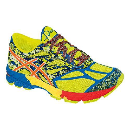 Kids ASICS GEL-Noosa Tri 10 GS Running Shoe - Yellow/Orange 4
