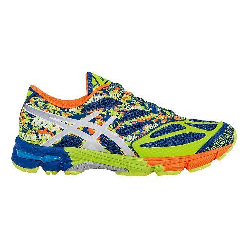 Kids ASICS GEL-Noosa Tri 10 GS Running Shoe - Blue/Yellow 1.5