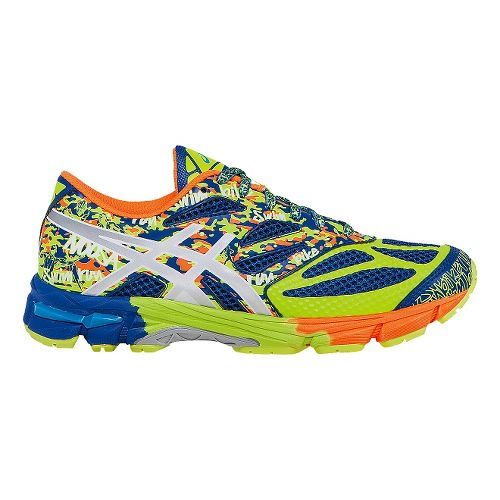 Kids ASICS GEL-Noosa Tri 10 GS Running Shoe - Blue/Yellow 2