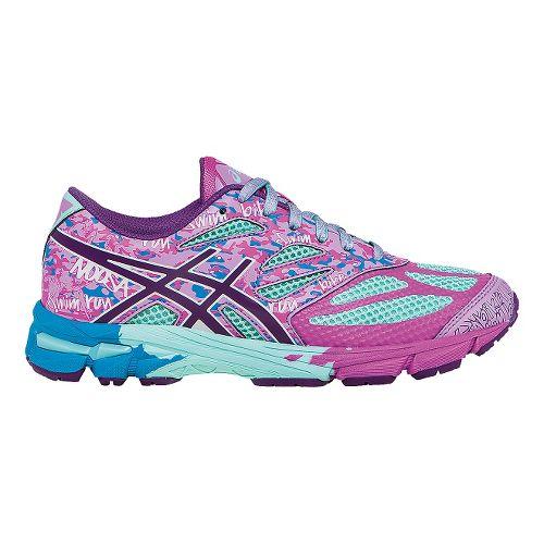 Kids ASICS GEL-Noosa Tri 10 GS Running Shoe - Mint/Purple 4