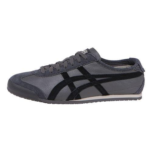 Mens ASICS Mexico 66 VIN Casual Shoe - Grey/Black 10