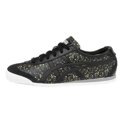 Womens ASICS Mexico 66 Casual Shoe - Black/Black 7.5