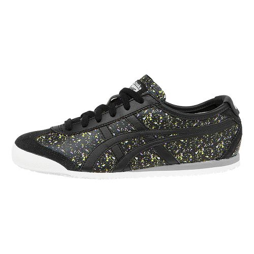 Womens ASICS Mexico 66 Casual Shoe - Black/Black 8