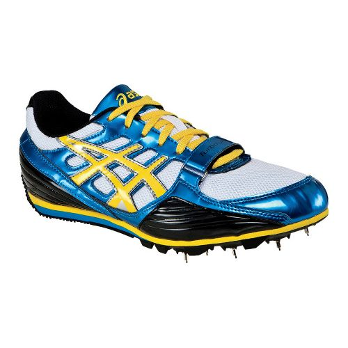 ASICS Turbo Jump Track and Field Spike Track and Field Shoe - Jet Blue/Yellow 5.5 ...