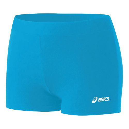 Womens ASICS Low-Cut Fitted Shorts - Atomic Blue XL