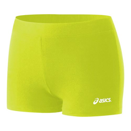 Womens ASICS Low-Cut Fitted Shorts - WOW S