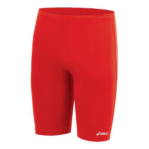 Mens ASICS Medley Unlined Field Short - Red XL