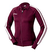 Womens ASICS Hurdle Track Warm-Up Unhooded Jackets