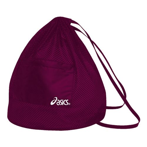 ASICS Mesh Backpack Bags - Cardinal