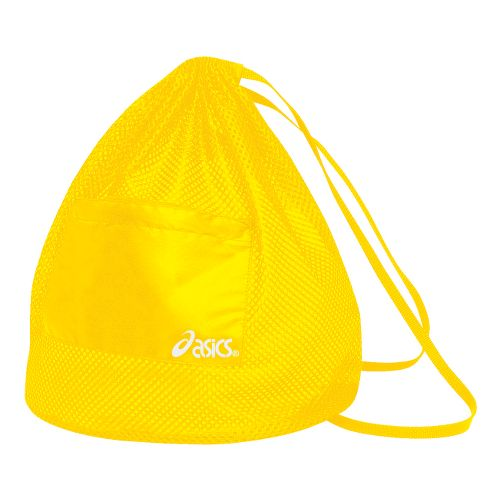 ASICS Mesh Backpack Bags - Gold