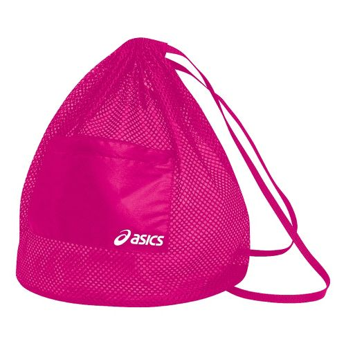 ASICS Mesh Backpack Bags - PinkGlo