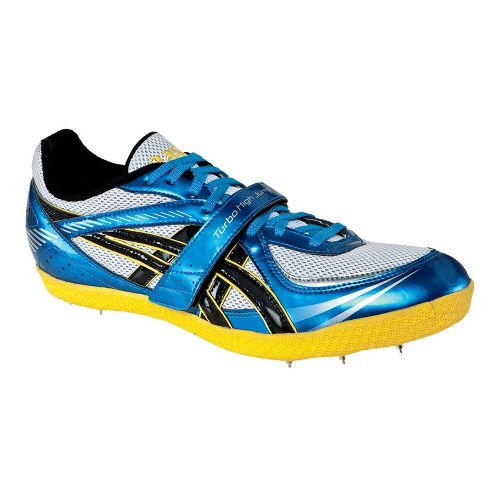 ASICS Turbo High Jump Track and Field Shoe - Jet Blue/Black 6.5
