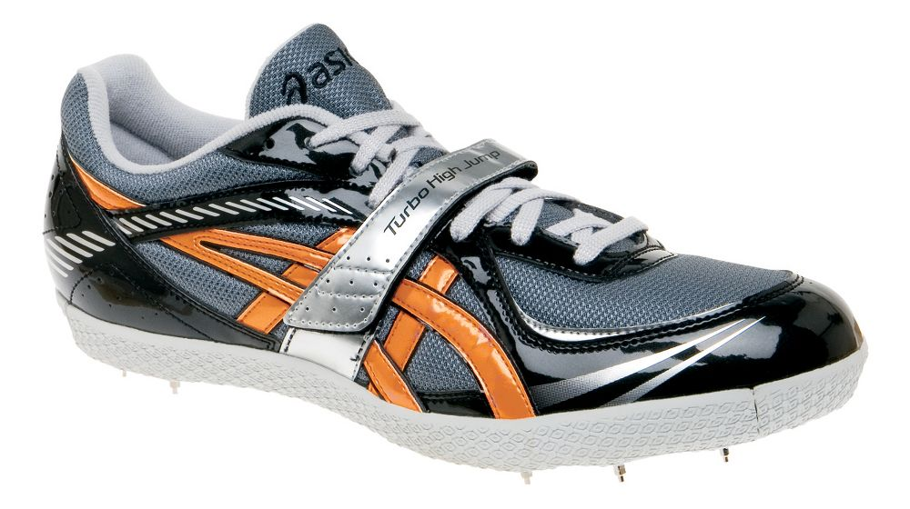 womens asics turbo high jump spike track cleats shoes