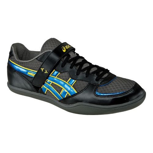 ASICS Hyper Throw 2 Track and Field Shoe - Black/Jet Blue 7.5