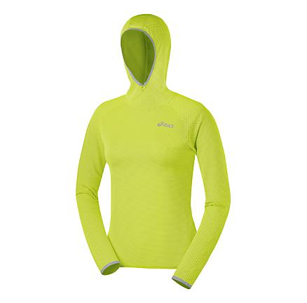Womens ASICS Jaide Hoody Long Sleeve No Zip Technical Tops