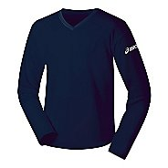 Womens ASICS Circuit-7 Warm-Up Long Sleeve No Zip Technical Tops
