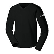 Womens ASICS Circuit-7 Warm-Up Long Sleeve No Zip Technical Top
