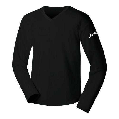 Womens ASICS Circuit-7 Warm-Up Long Sleeve No Zip Technical Tops - Neon XXL