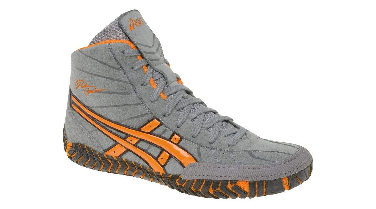 asics rulon wrestling shoes orange