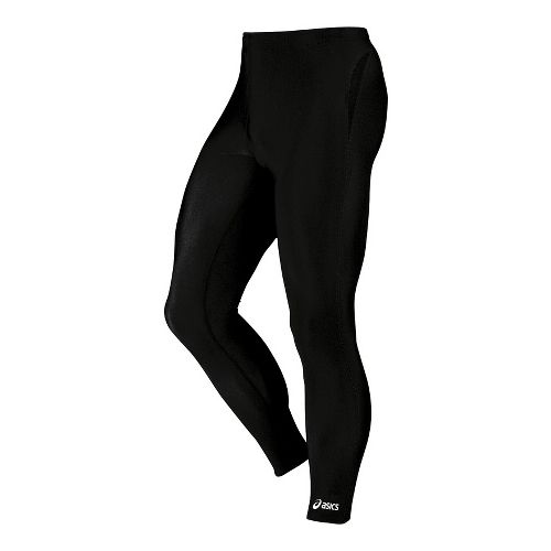 Mens ASICS Medley Fitted Tights - Black XXS