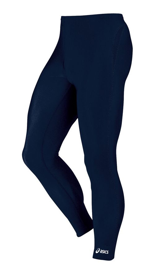 Mens ASICS Medley Fitted Tights - Navy XS