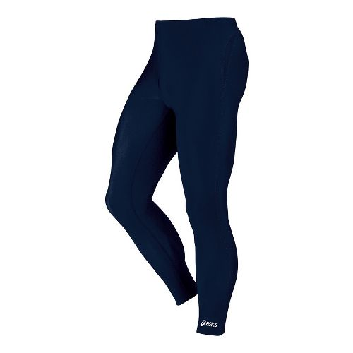 Mens ASICS Medley Fitted Tights - Navy L