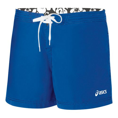 Womens ASICS Aneka Boardshort Unlined Shorts - Royal XL