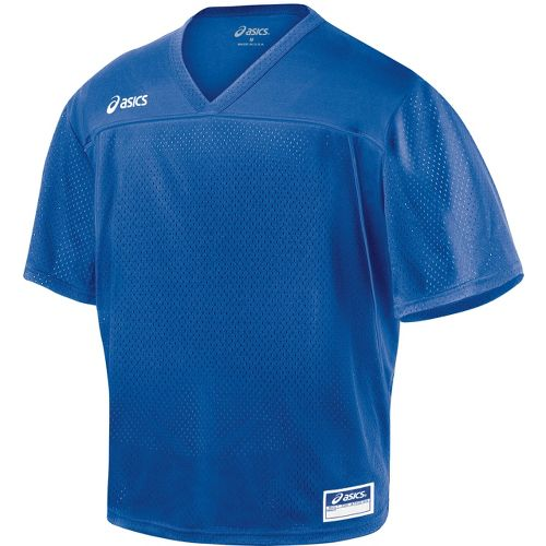 Mens ASICS Cradle Jersey Short Sleeve Technical Tops - Royal M
