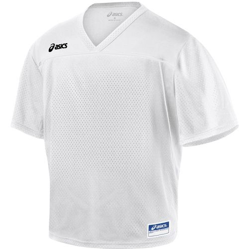 Mens ASICS Cradle Jersey Short Sleeve Technical Tops - White XXL