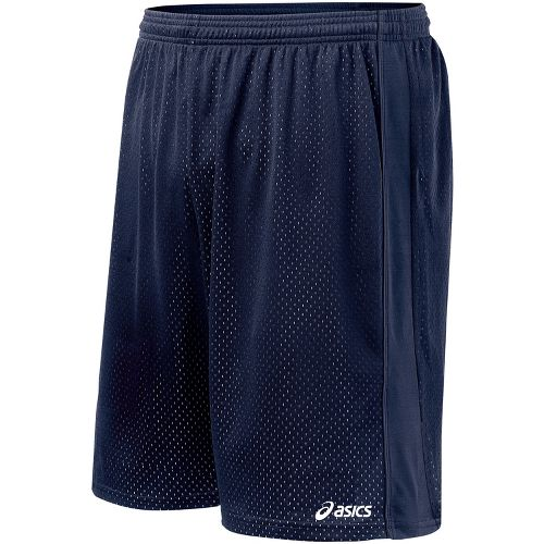 Mens ASICS Cradle Lacrosse Lined Shorts - Navy M