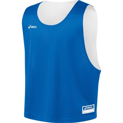 Mens ASICS Lacrosse Scrimmage Vest Tanks Technical Tops - Royal/White L/XL