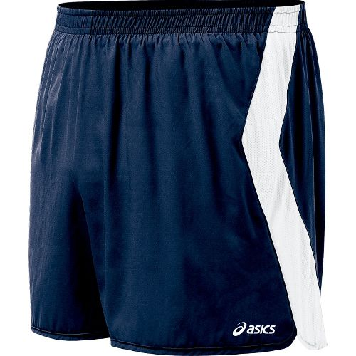Mens ASICS Intensity Lined Shorts - Navy/White L