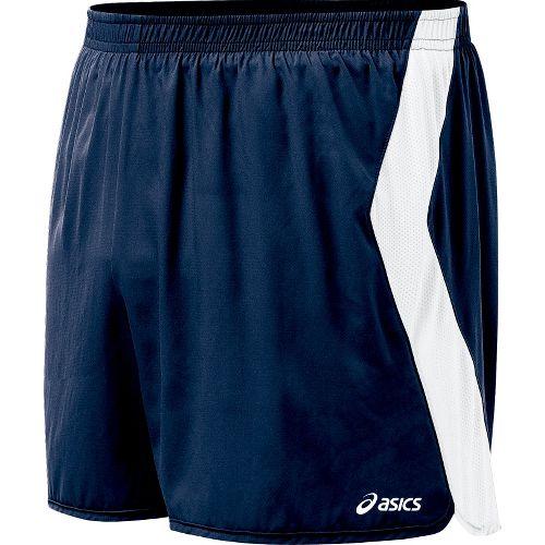 Mens ASICS Intensity Lined Shorts - Navy/White S