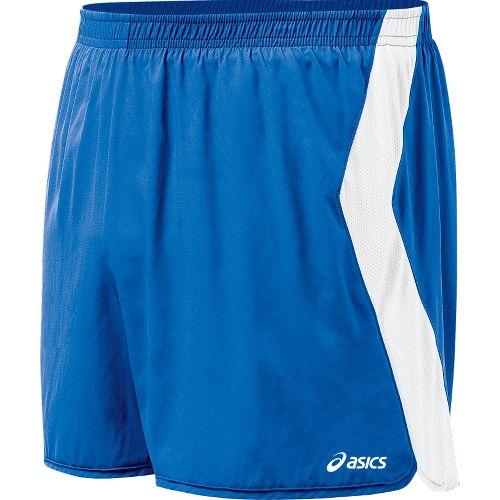 Mens ASICS Intensity Lined Shorts - Royal/White S