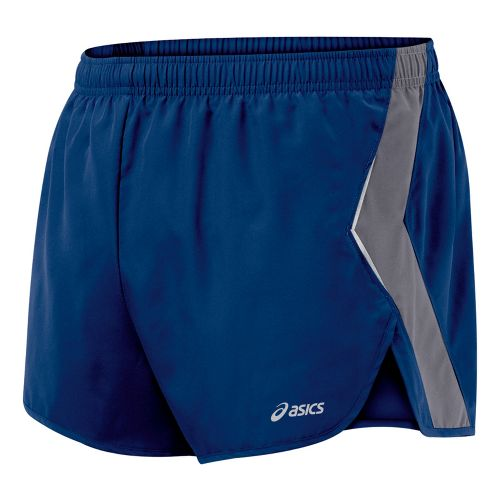 Mens ASICS Split Short Splits Shorts - Estate/Frost M