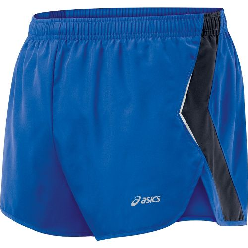 Mens ASICS Split Short Splits Shorts - Fresh Blue/Iron L